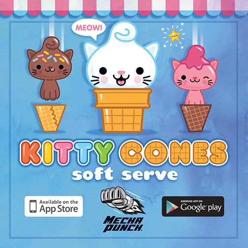 Kitty Cones Soft Serve Mobile Game