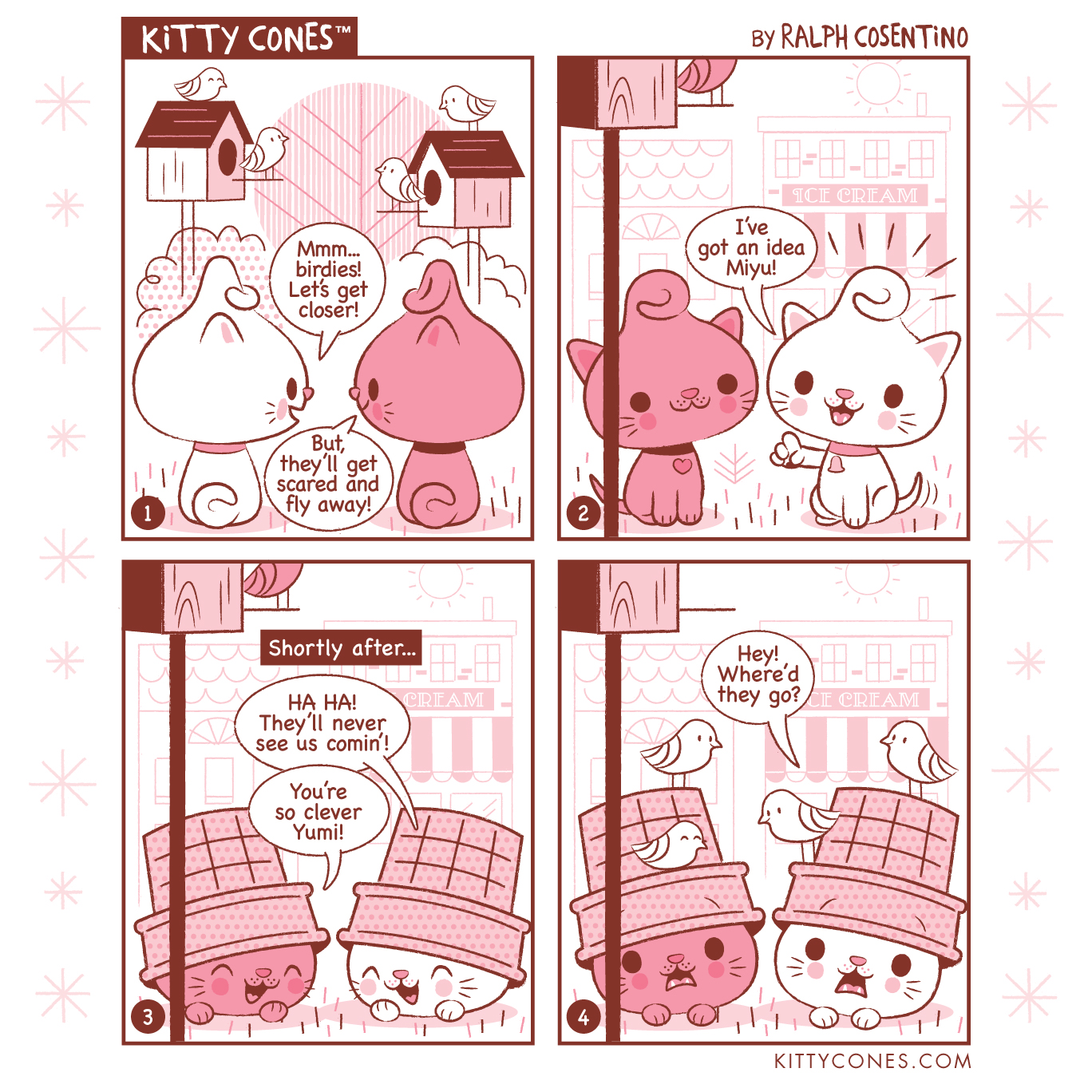 Kitty Cones Comic Strip # 1