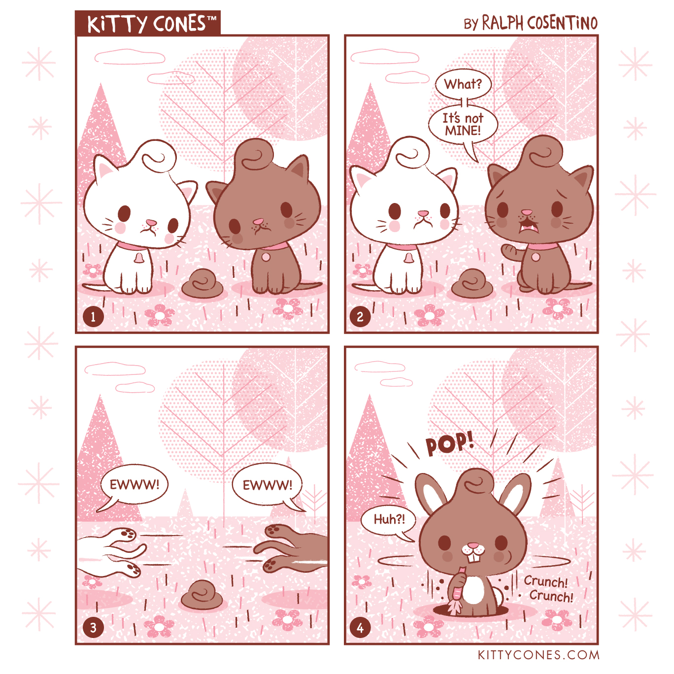 Kitty Cones Comic Strip # 2