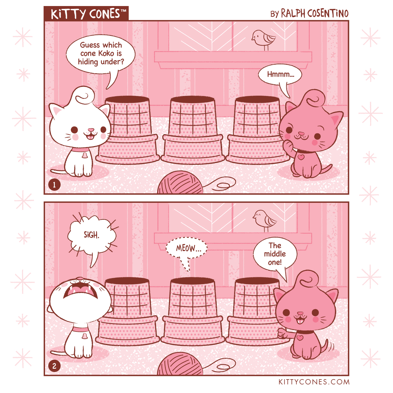 Kitty Cones Comic Strip # 3
