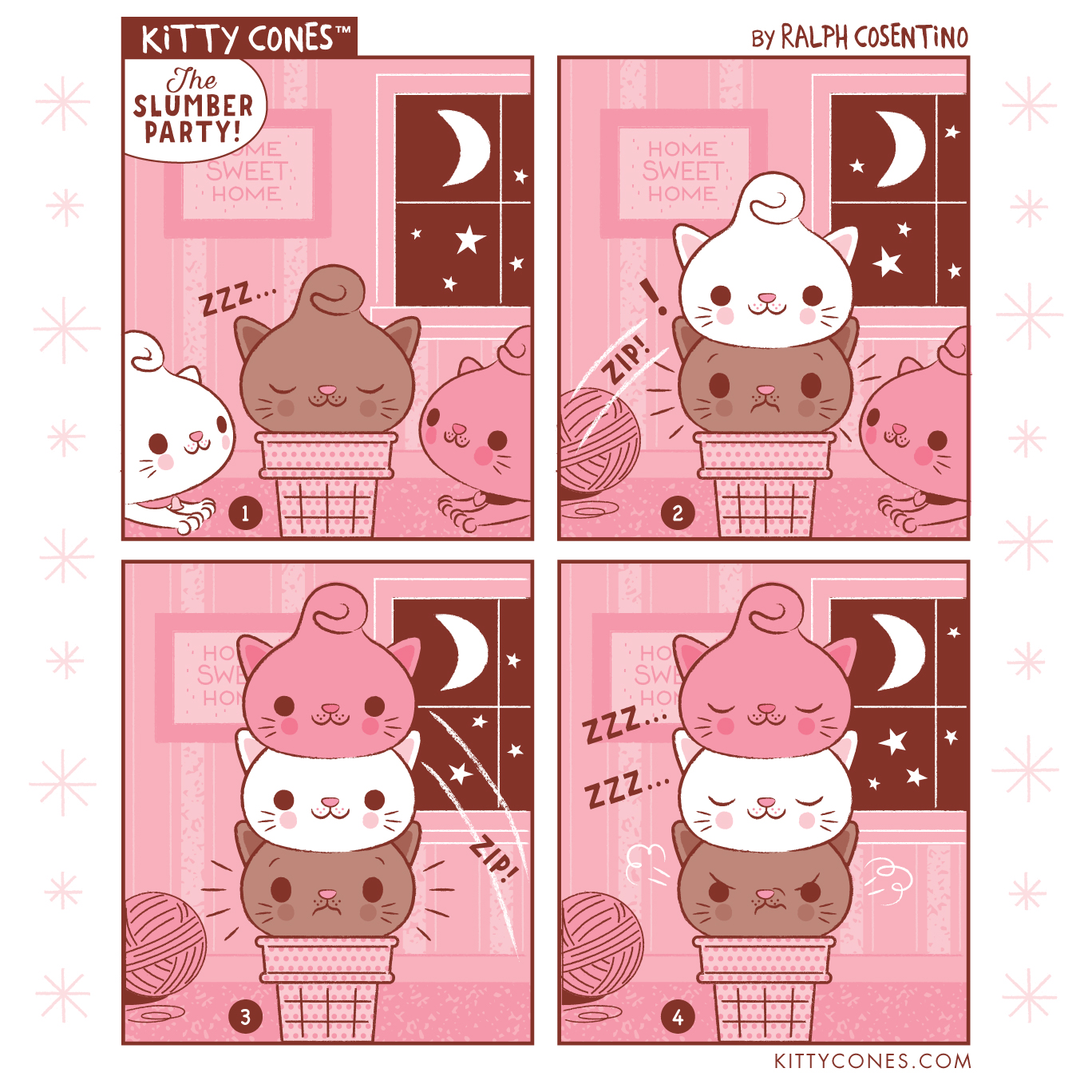 Kitty Cones Comic Strip # 6