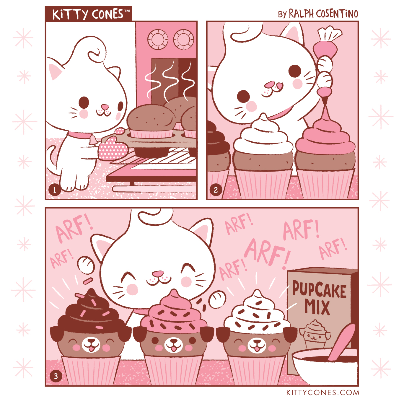 Kitty Cones Comic Strip # 7