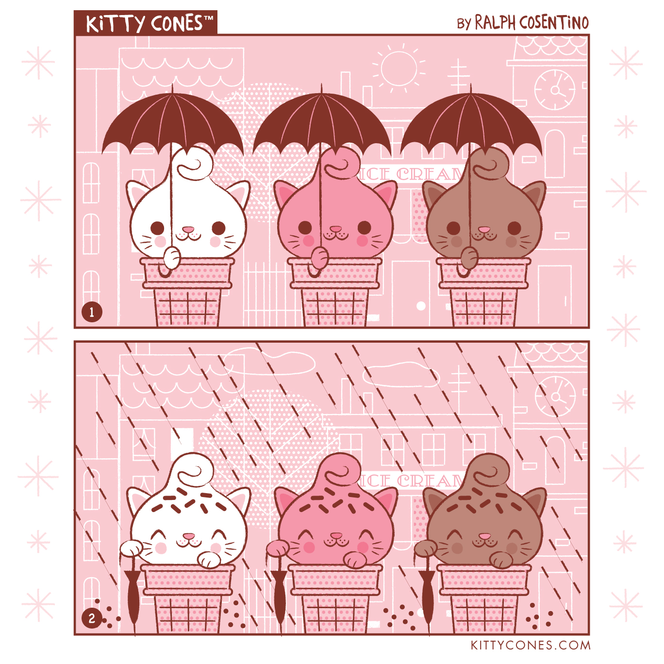 Kitty Cones Comic Strip # 8