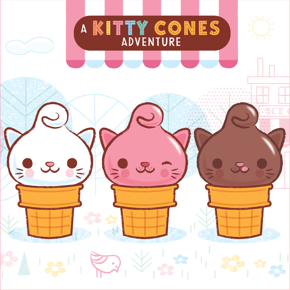 "Kitty Cones ""The Purrfect Day"" Book Trailer"