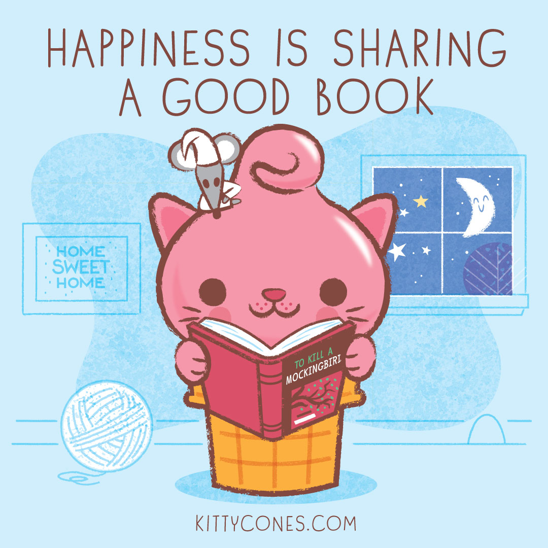 Happiness is Sharing a Good Book