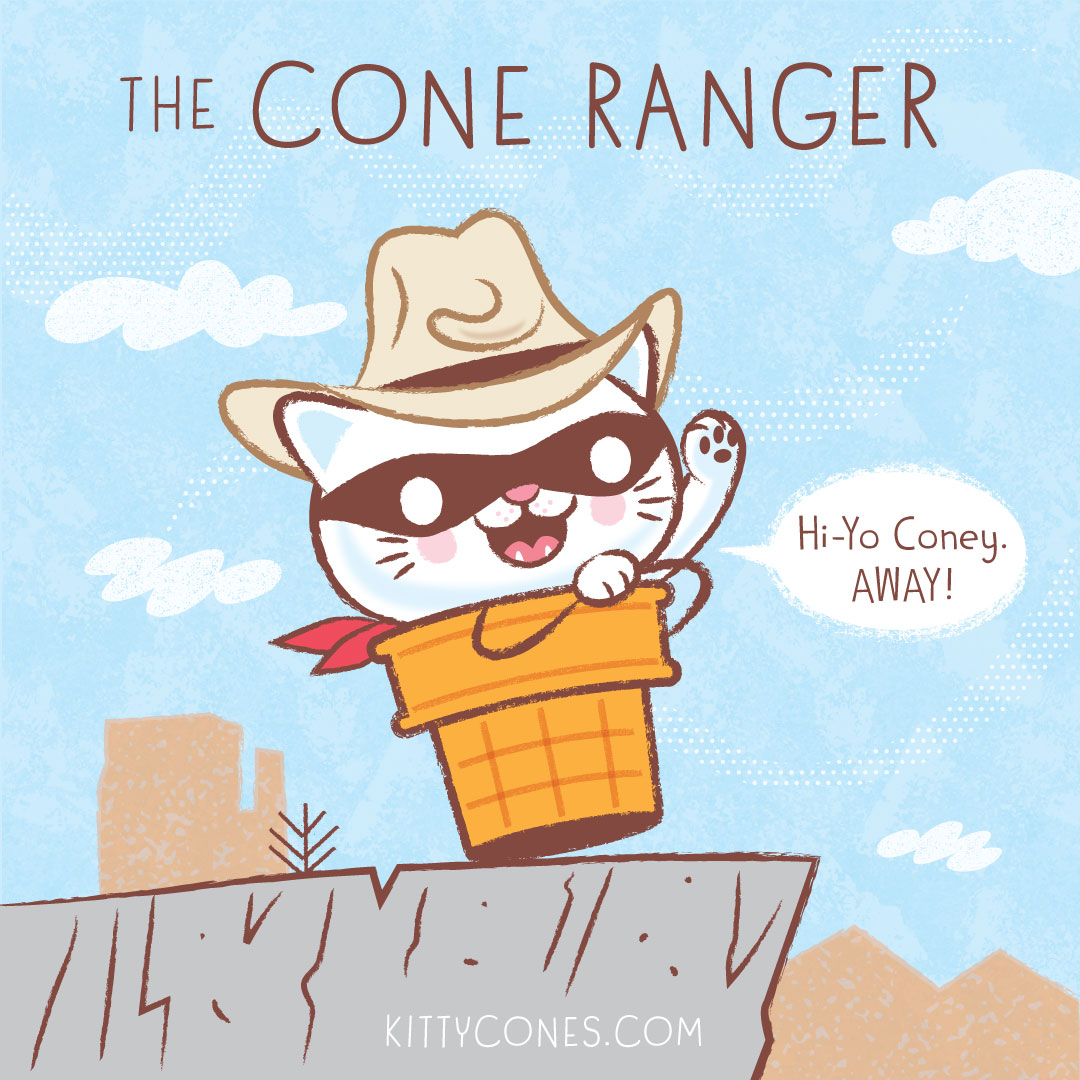 The Cone Ranger!