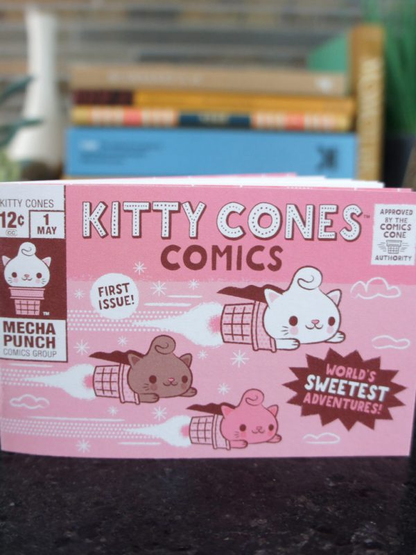 Kitty Cones Comic Book issue 1